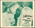 """Movie Posters:Serial, Superman (Columbia, 1948). Near Mint. Lobby Card (11"""" X 14"""") Chapter 1 -- """"Superman Comes to Earth."""" . ..."""
