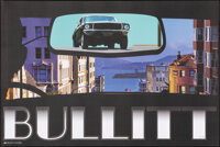 Bullitt, 141/300 by Henry Villegas (Zoetrope Galleries, 2014). Mint. Hand Signed and Numbered Limited Edition Offset Pri...