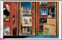 Rear Window, AP 2 by Henry Villegas (Zoetrope Galleries, 2014) Very Fine. Hand Signed and Numbered Artist's Proof and Pr...
