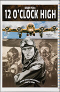 Movie Posters:War, Twelve O'Clock High, AP 2 by Henry Villegas (Zoetrope Galleries, 2014). Very Fine. Hand Signed and Numbered Artist's Proof a...