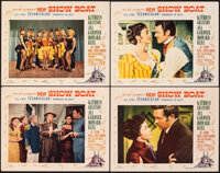 """Show Boat (MGM, 1951). Very Fine-. Lobby Cards (4) (11"""" X 14""""). Musical. ... (Total: 4 Items)"""