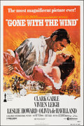 """Movie Posters:Academy Award Winners, Gone with the Wind (MGM, R-1980). Folded, Very Fine+. One Sheet (27"""" X 41"""") Howard Terpning Artwork. Academy Award Winners...."""