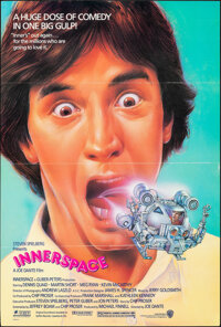 """Innerspace & Other Lot (Warner Bros., 1987). Folded, Very Fine. One Sheet (27"""" X 41""""), Mini Lobby Card Set..."""