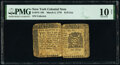 Colonial Notes:New York, New York March 5, 1776 $1/8 PMG Very Good 10 Net.. ...