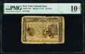 Colonial Notes:New York, New York March 5, 1776 $1/4 PMG Very Good 10 Net.. ...