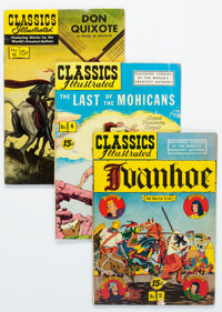 Classics Illustrated Reprints Group of 29 (Gilberton, 1950s-60s) Condition: Average GD/VG.... (Total: 29 Comic Books)