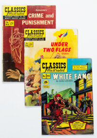 Classics Illustrated First Editions Group of 21 (Gilberton, 1950s) Condition: Average VG-.... (Total: 21 Comic Books)