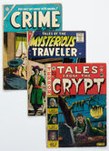 Golden Age (1938-1955):Miscellaneous, Golden Age Miscellaneous Comics Group of 16 (Various Publishers, 1940s-50s) Condition: Average GD+.... (Total: 16 Comic Books)