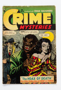 Golden Age (1938-1955):Horror, Crime Mysteries #10 (Ribage Publishing, 1953) Condition: GD/VG....