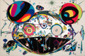 Prints & Multiples, Takashi Murakami (b. 1962). Tan Tan-Bo, 2003. Offset lithograph in colors on smooth wove paper. 25-3/4 x 39-1/4 inches (...