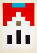 Prints & Multiples, Invader (b. 1969). Marlboro, 2014. Screenprint in colors on wove paper. 34 x 24 inches (86.4 x 61 cm) (sheet). Ed. 100/2...