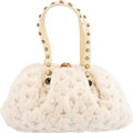Luxury Accessories:Bags, Louis Vuitton Limited Edition Cream Mink Monogram & Caboch...