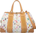 """Luxury Accessories:Bags, Louis Vuitton White Monogram Coated Canvas Courtney Bag. Condition: 3. 15.5"""" Width x 10"""" Height x 7.5"""" Depth. ..."""