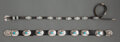 American Indian Art:Jewelry and Silverwork, Two Navajo Concho Belts... (Total: 2 )