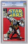 Modern Age (1980-Present):Science Fiction, Star Wars #77 (Marvel, 1983) CGC NM/MT 9.8 White pages....