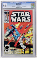 Modern Age (1980-Present):Science Fiction, Star Wars #83 (Marvel, 1984) CGC NM/MT 9.8 White pages....