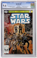 Modern Age (1980-Present):Science Fiction, Star Wars #50 (Marvel, 1981) CGC NM+ 9.6 White pages....