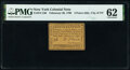 Colonial Notes:New York, New York- New York City February 20, 1790 3d PMG Uncirculated 62.. ...