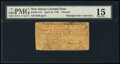 Colonial Notes:New Jersey, New Jersey April 10, 1759 £3 PMG Choice Fine 15.. ...