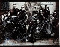 Movie/TV Memorabilia:Autographs and Signed Items, Sons of Anarchy Cast Signed Promo Ph...