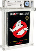 Video Games:Nintendo, Ghostbusters - Wata 9.2 B+ Sealed [Rev-A, Round SOQ], NES ActiVision 1988 USA....