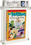 Video Games:Nintendo, The Flintstones: The Rescue of Dino and Hoppy - Wata 9.4 A+ Sealed [Oval SOQ R], NES Taito 1991 USA....