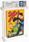 Video Games:Nintendo, The Three Stooges - Wata 8.5 A Sealed [Oval SOQ TM], NES Activision 1989 USA. ...