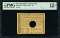 Colonial Notes:New Hampshire, New Hampshire April 29, 1780 $8 PMG Choice Fine 15 Net.. ...