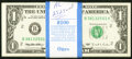 Small Size:Federal Reserve Notes, Fr. 1923-B $1 1995 Web Federal Reserve Notes. Ninety-nine Examples. Crisp Uncirculated or Better.. ... (Total: 99 notes)