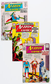 Action Comics Group of 19 (DC, 1962-73) Condition: Average VG.... (Total: 19 Comic Books)