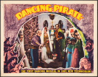 """Dancing Pirate & Other Lot (RKO, 1936). Fine+. Lobby Cards (3) (11"""" X 14"""") & Midget Window Card (8&quo..."""
