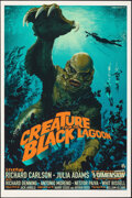 Movie Posters:Horror, Creature from the Black Lagoon, 327/375 by Stan and Vince (Mondo, 2015). Mint. Hand Numbered Limited Edition Screen Print (3...