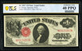 Large Size:Legal Tender Notes, Fr. 39 $1 1917 Legal Tender PCGS Banknote Extremely Fine 4...