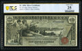 Large Size:Silver Certificates, Fr. 225 $1 1896 Silver Certificate PCGS Banknote Very Fine...