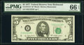 Small Size:Federal Reserve Notes, Fr. 1974-E* $5 1977 Federal Reserve Star Note. PMG Gem Unc...