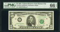 Small Size:Federal Reserve Notes, Fr. 1976-J $5 1981 Federal Reserve Note. PMG Gem Uncircula...