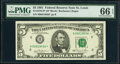 Small Size:Federal Reserve Notes, Fr. 1976-H* $5 1981 Federal Reserve Star Note. PMG Gem Unc...