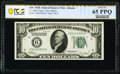 Small Size:Federal Reserve Notes, Fr. 2000-F $10 1928 Federal Reserve Note. PCGS Banknote Gem Unc 65 PPQ.. ...