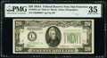 Small Size:Federal Reserve Notes, Fr. 2055-L* $20 1934A Mule Federal Reserve Star Note. PMG Choice Very Fine 35.. ...