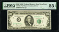 Fr. 2162-B* $100 1950E Federal Reserve Star Note. PMG About Uncirculated 55 EPQ