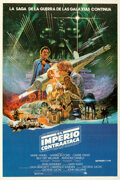 """Movie Posters:Science Fiction, The Empire Strikes Back (20th Century Fox, 1980). Folded, Very Fine+. Argentinean One Sheet (29"""" X 43"""") Noriyoshi Ohrai Artw..."""