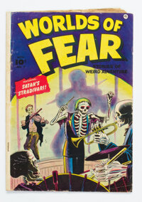 Worlds of Fear #7 (Fawcett Publications, 1952) Condition: GD