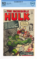 Silver Age (1956-1969):Superhero, The Incredible Hulk #5 (Marvel, 1963) CBCS NM- 9.2 Off-white to white pages....
