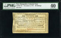 Colonial Notes:New Hampshire, New Hampshire November 3, 1775 40s PMG Extremely Fine 40.. ...