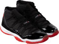 Basketball Collectibles:Others, 2009 Michael Jordan Signed Limited Edition (23/23) UDA Air Jordan XI Sneakers....