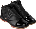 Basketball Collectibles:Others, 2011 Michael Jordan Signed Limited Edition (1/23) UDA Air Jordan XVI Sneakers....