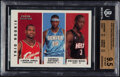 Basketball Cards:Singles (1980-Now), 2003 Fleer Tradition James/Anthony/Wade #300 BGS Gem Mint 9.5....