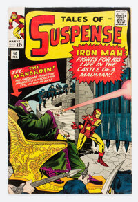 Tales of Suspense #50 (Marvel, 1964) Condition: FN-
