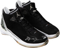 2007 Michael Jordan Signed UDA Limited Edition (23/23) Air Jordan XXII Sneakers (Both Shoes Signed)
