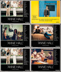 """Movie Posters:Comedy, Annie Hall & Other Lot (United Artists, 1977). Very Fine. Lobby Cards (6) (11"""" X 14""""). Comedy.. ... (Total: 6 Items)"""